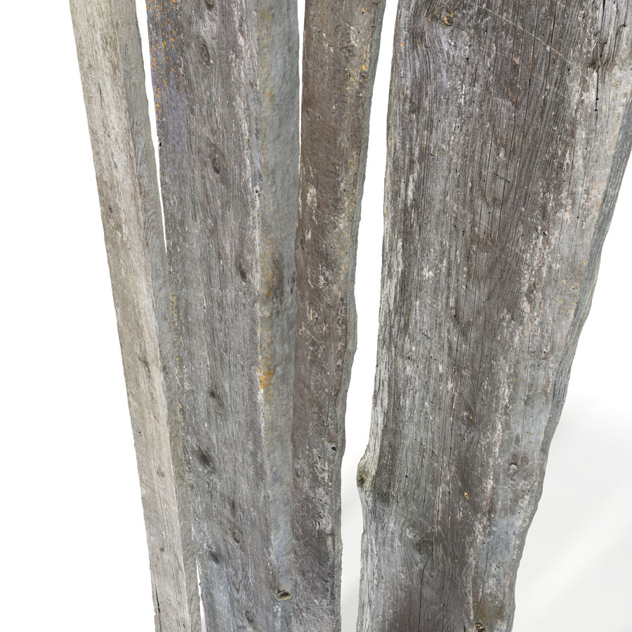 Weathered Planks royalty-free 3d model - Preview no. 4