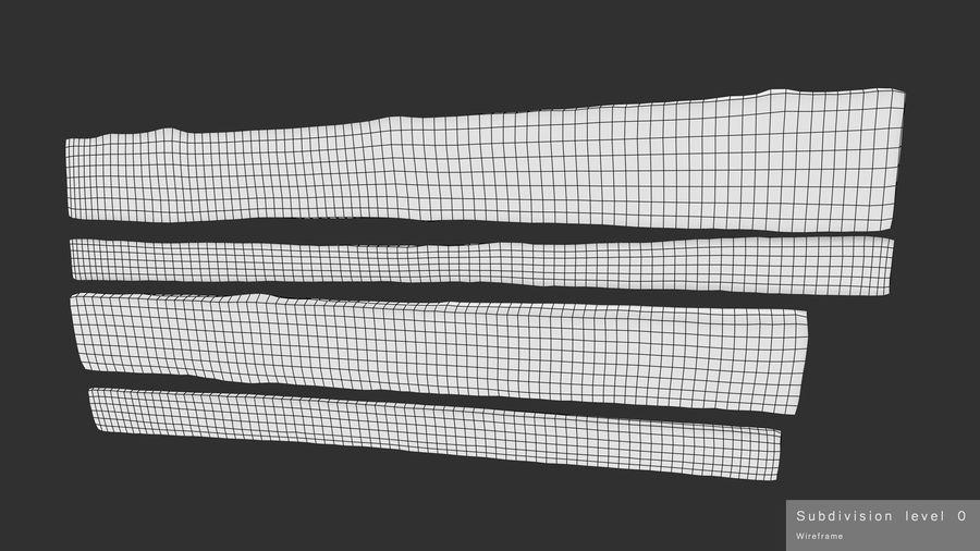 風化した板 royalty-free 3d model - Preview no. 17