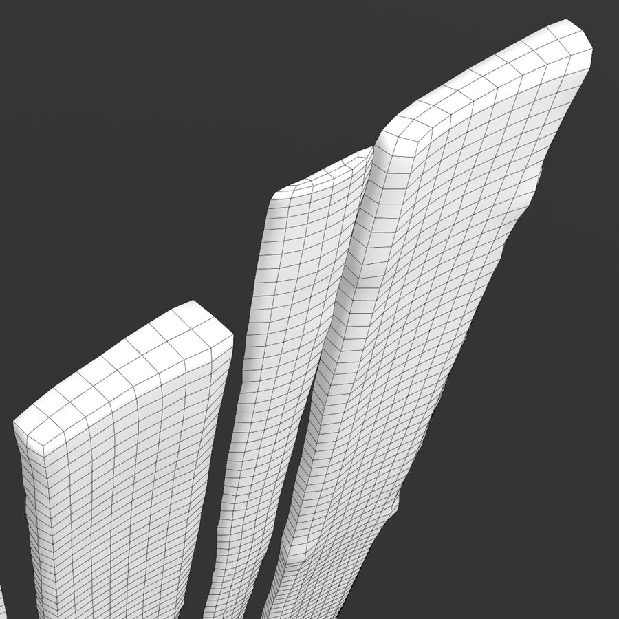 Weathered Planks royalty-free 3d model - Preview no. 50