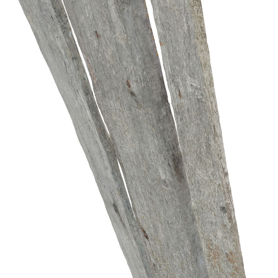 Weathered Planks royalty-free 3d model - Preview no. 14