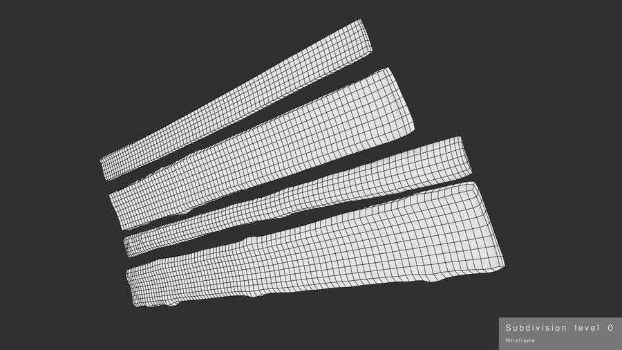 風化した板 royalty-free 3d model - Preview no. 18