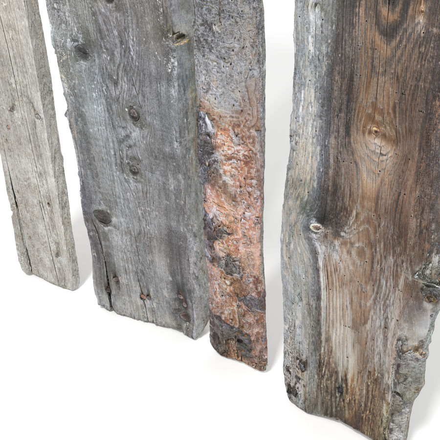 Weathered Planks royalty-free 3d model - Preview no. 12