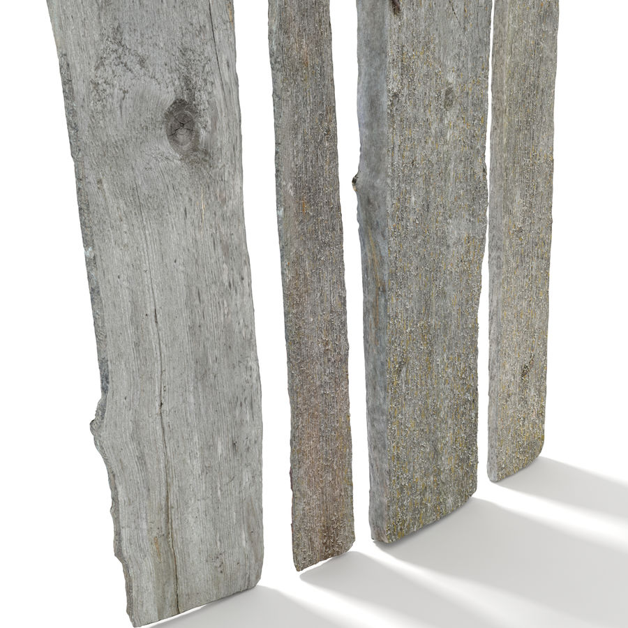 Weathered Planks royalty-free 3d model - Preview no. 8