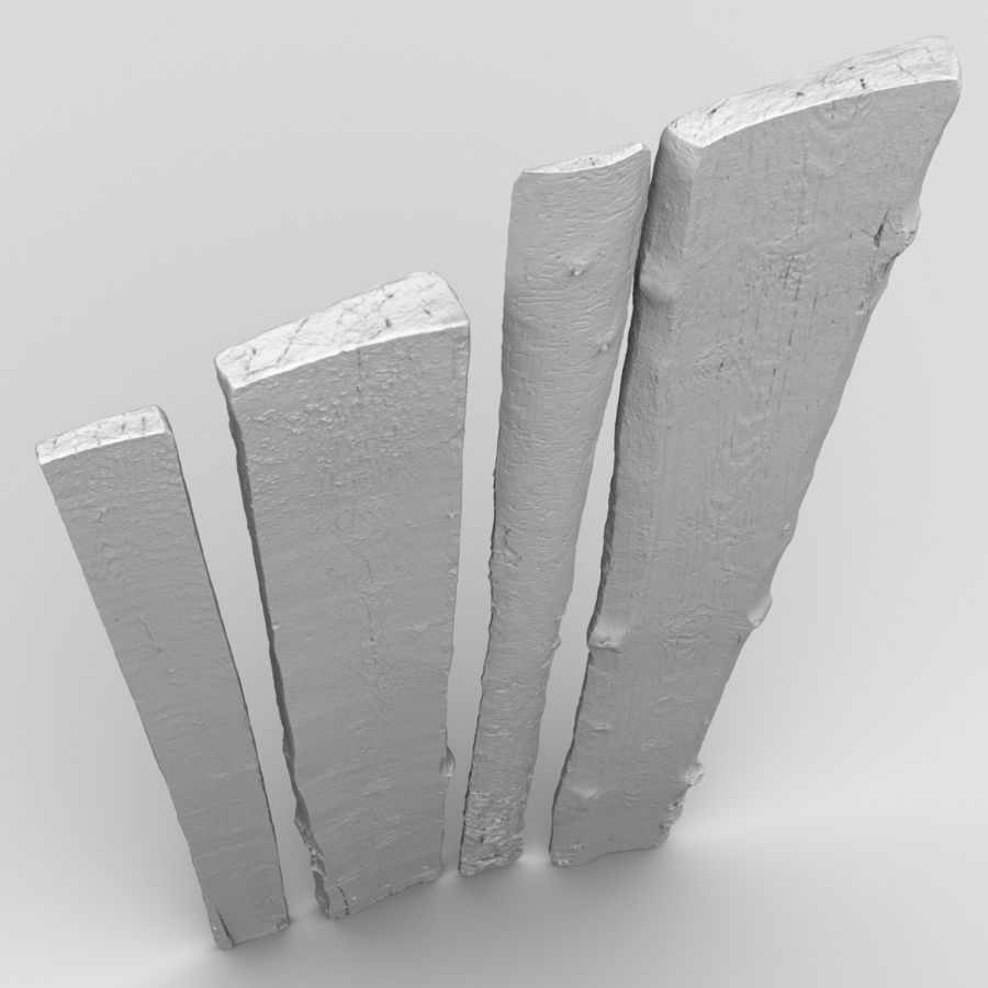 Weathered Planks royalty-free 3d model - Preview no. 20