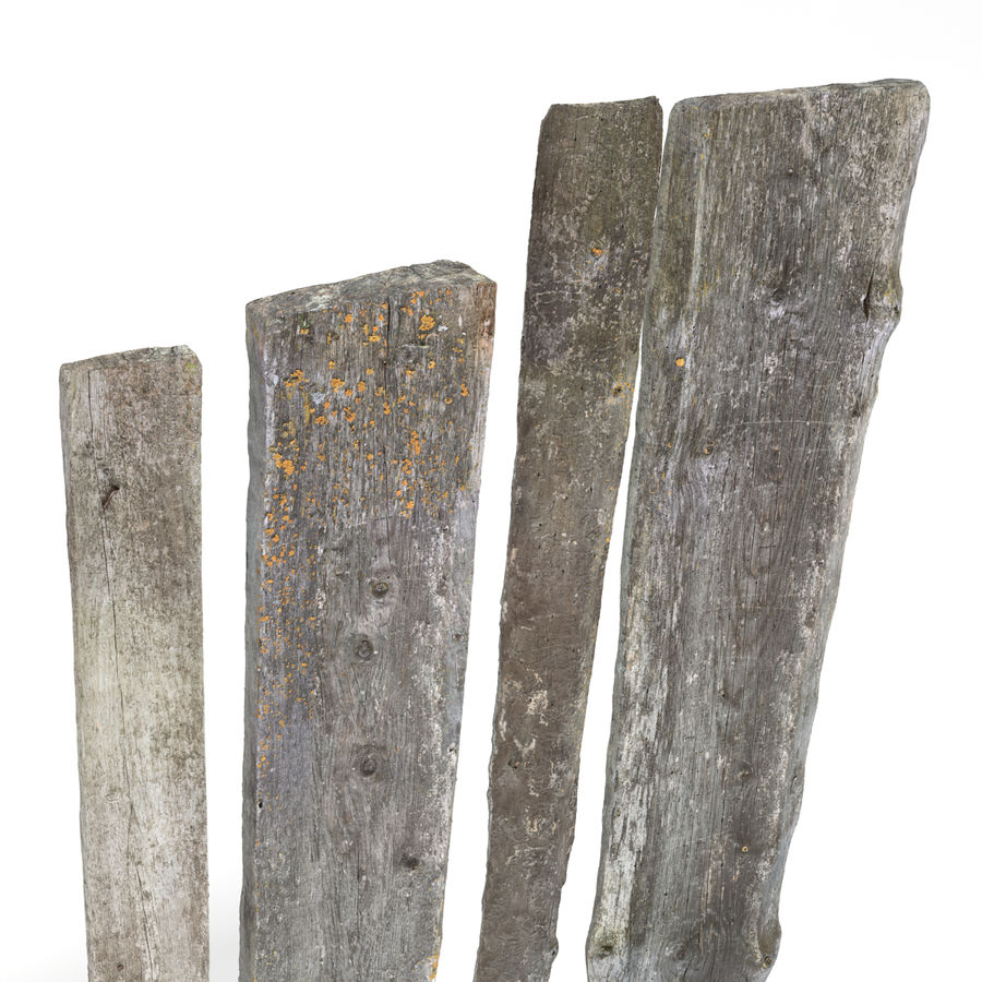 Weathered Planks royalty-free 3d model - Preview no. 5