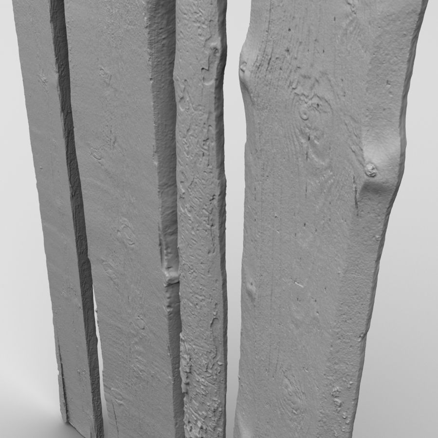 Weathered Planks royalty-free 3d model - Preview no. 24