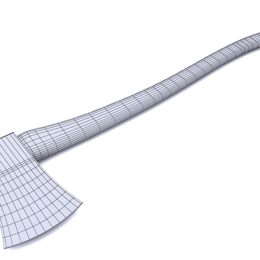 steel AX royalty-free 3d model - Preview no. 5