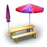 Cafe-bundel 2B 3d model