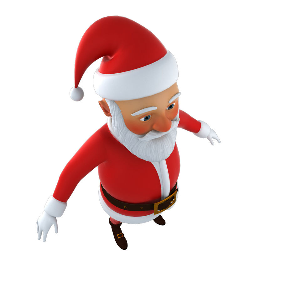 Papai Noel royalty-free 3d model - Preview no. 12
