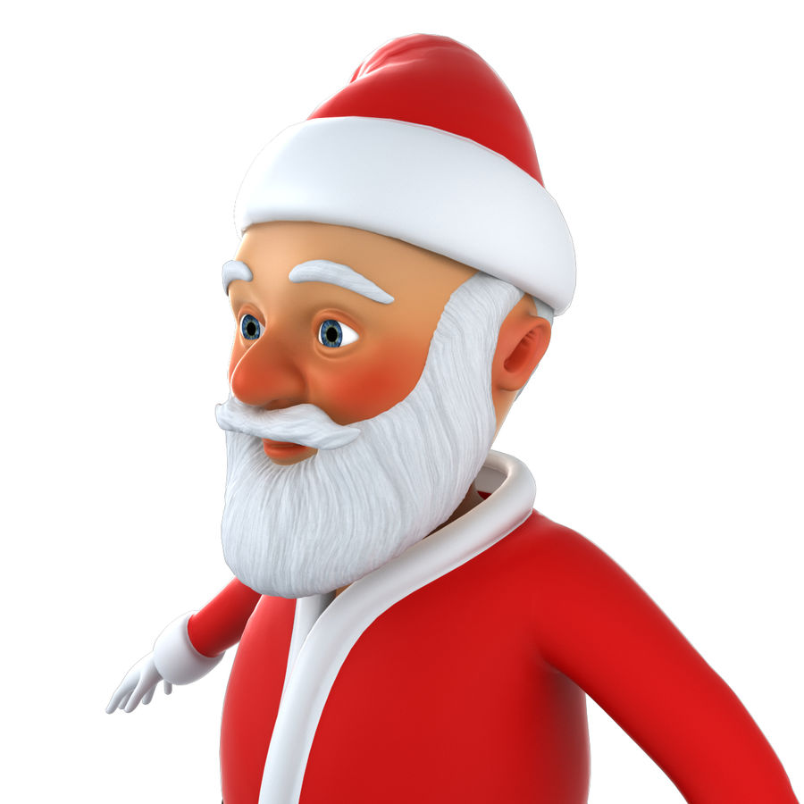 Papai Noel royalty-free 3d model - Preview no. 2