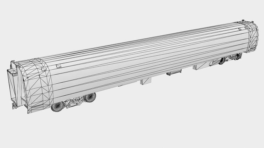 Amtrak Amfleet I&II royalty-free 3d model - Preview no. 7