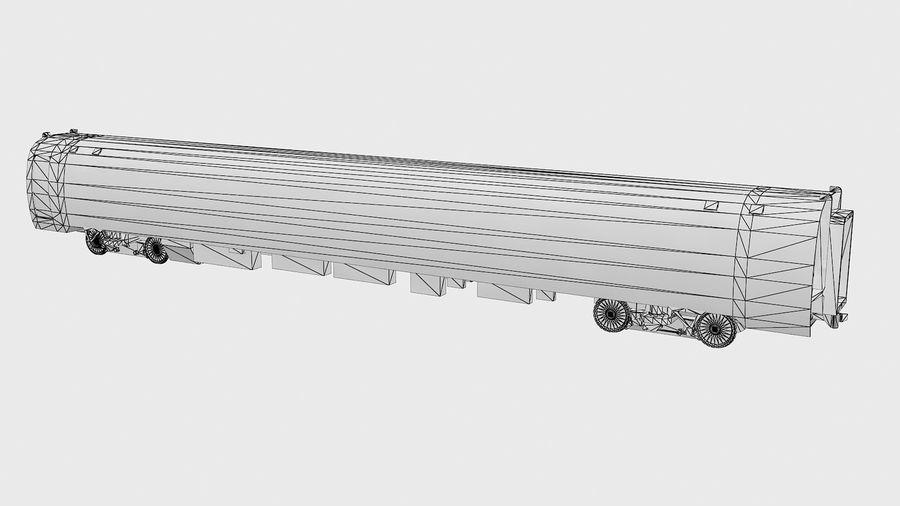 Amtrak Amfleet I & II royalty-free 3d model - Preview no. 14
