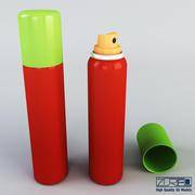 Spray lata 100ml v 2 modelo 3d