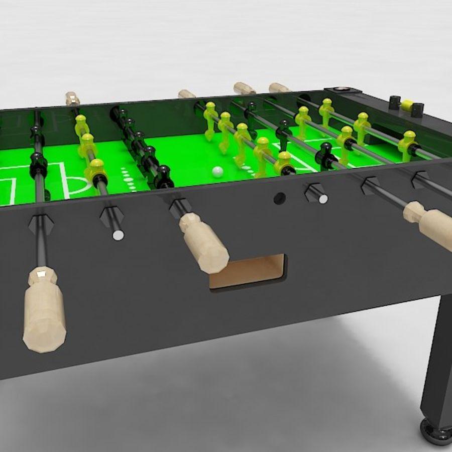 Stół piłkarski royalty-free 3d model - Preview no. 6