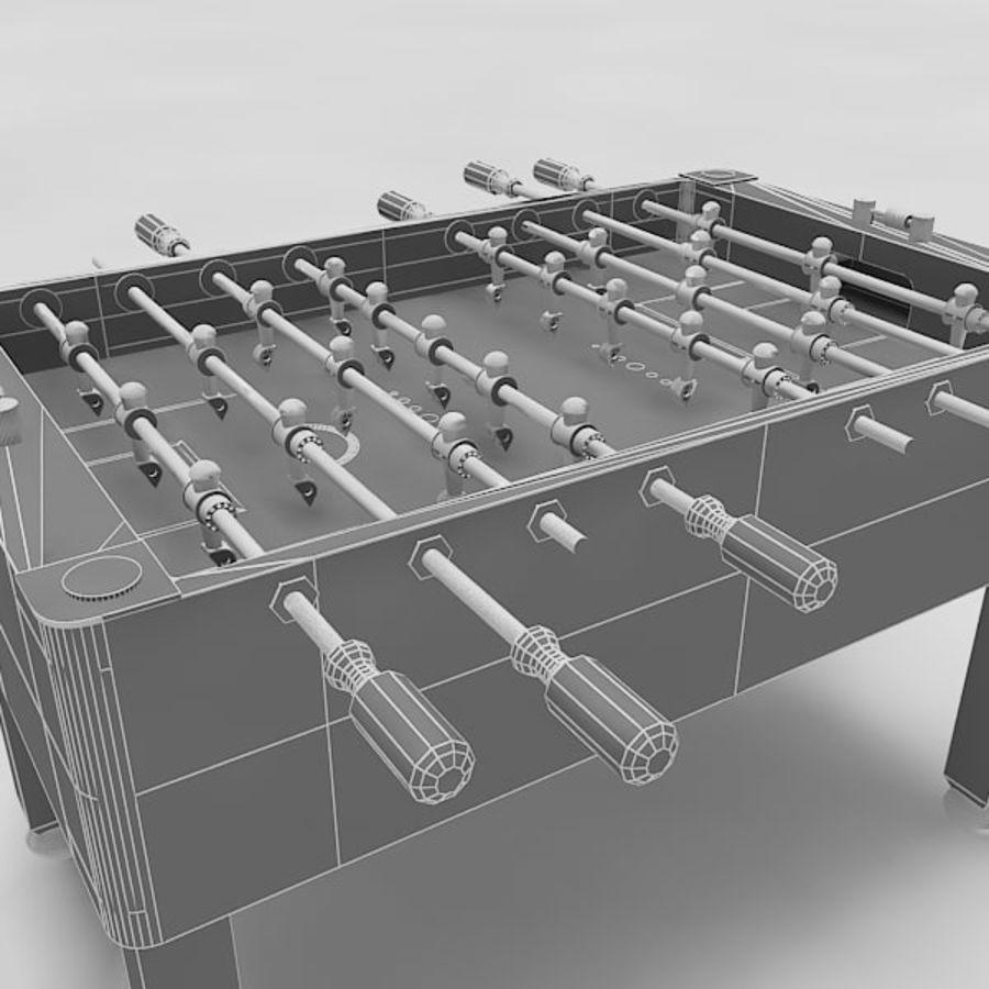 Stół piłkarski royalty-free 3d model - Preview no. 13