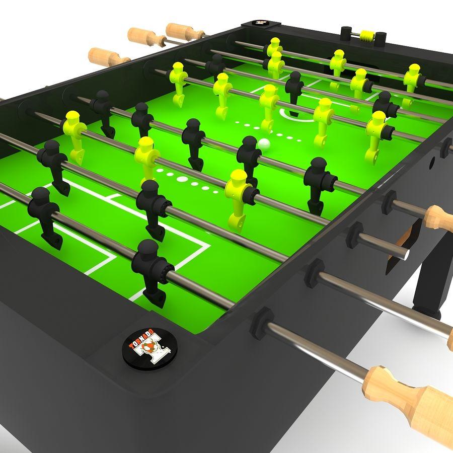 Stół piłkarski royalty-free 3d model - Preview no. 3