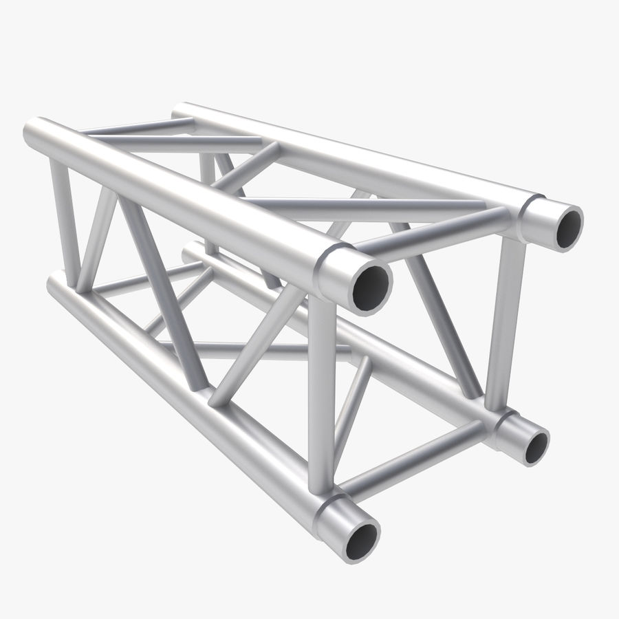 Straight Truss Collection (Square) royalty-free 3d model - Preview no. 6
