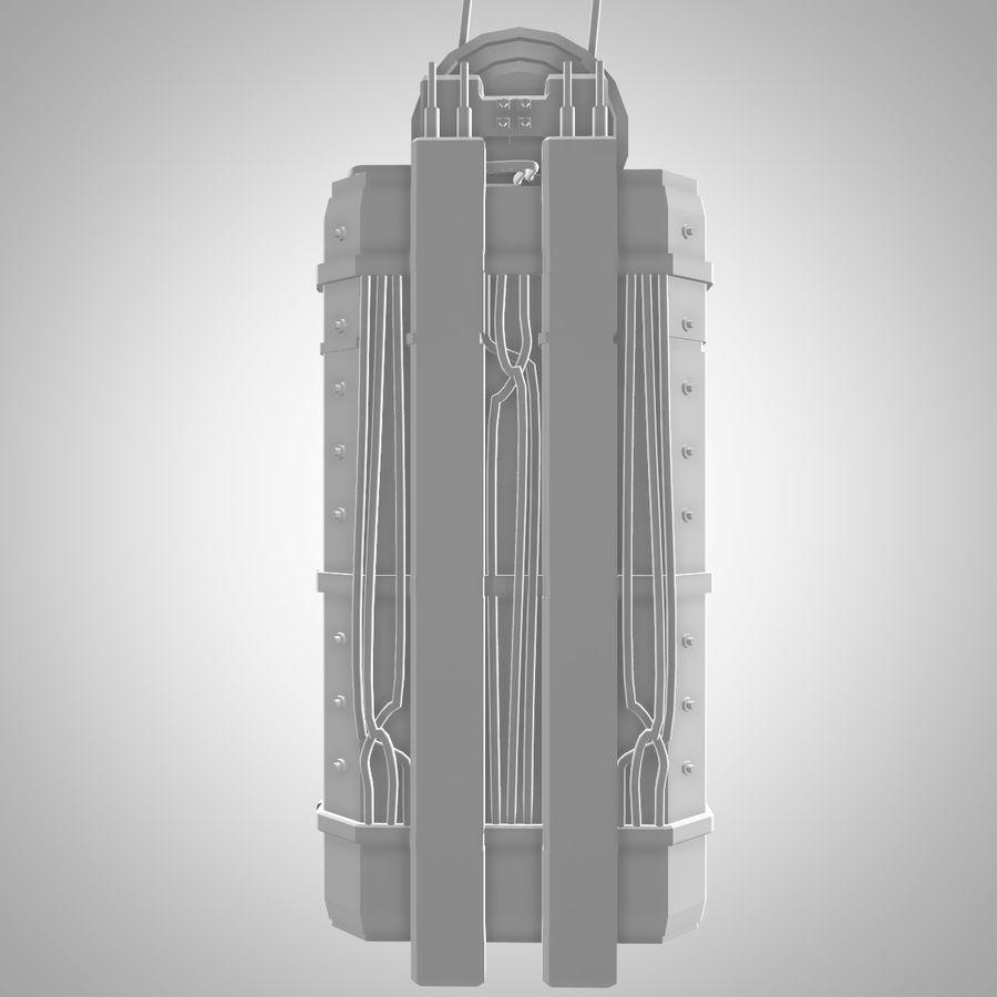 Asansör royalty-free 3d model - Preview no. 11