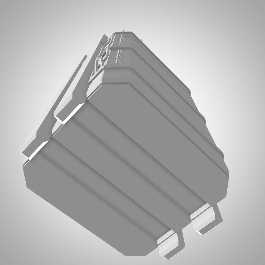 Asansör royalty-free 3d model - Preview no. 7