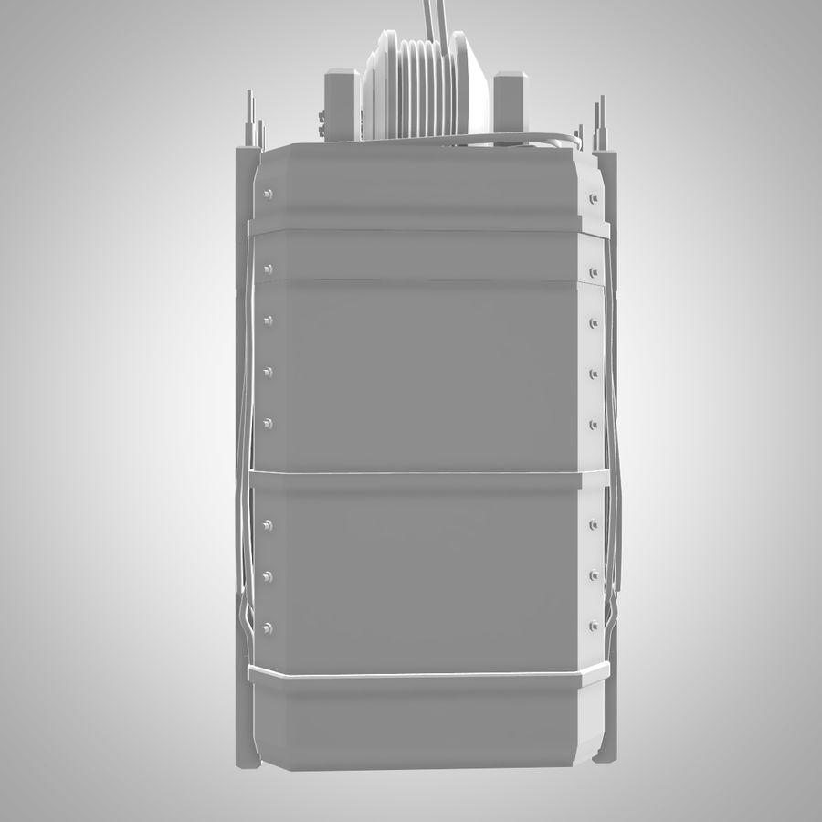 Asansör royalty-free 3d model - Preview no. 5