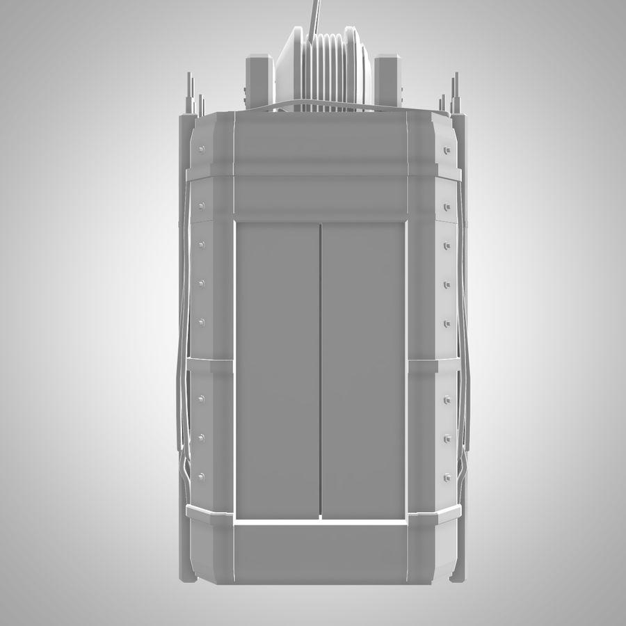 Asansör royalty-free 3d model - Preview no. 9