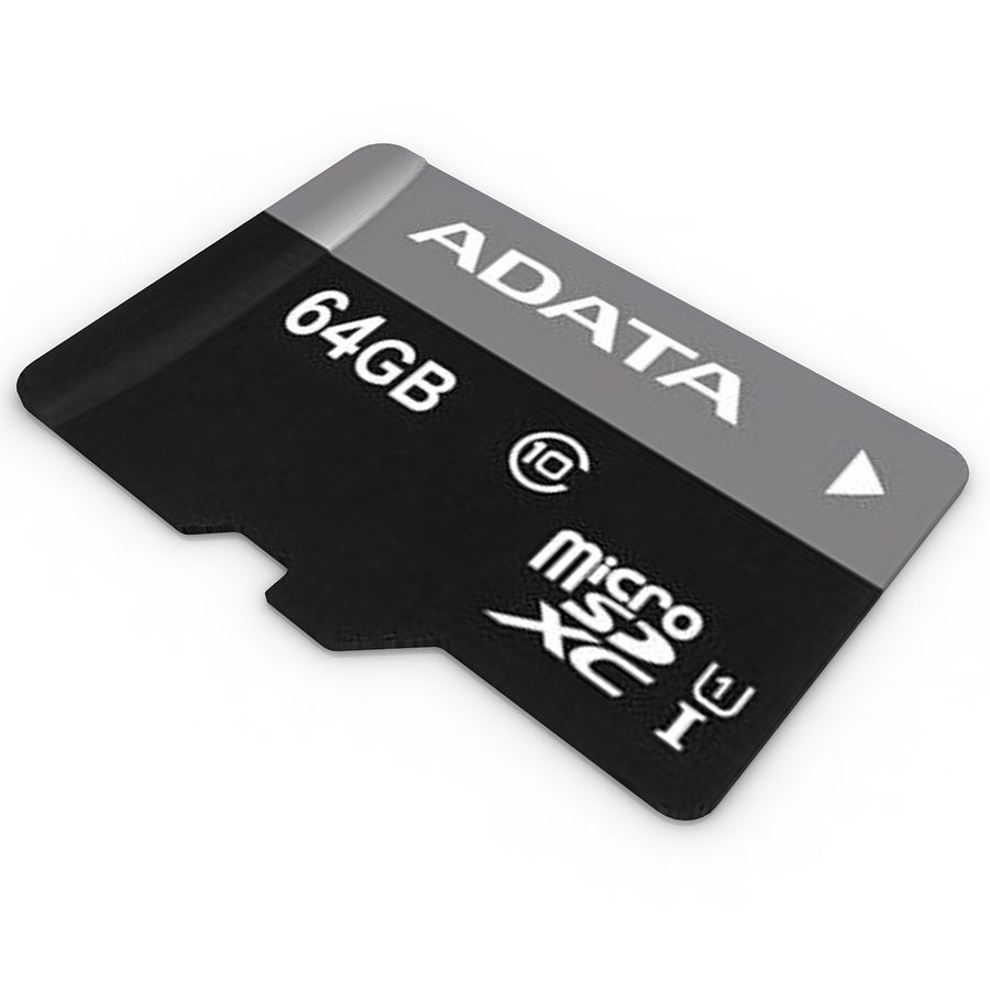 Memory Card Micro SD 2 royalty-free 3d model - Preview no. 2