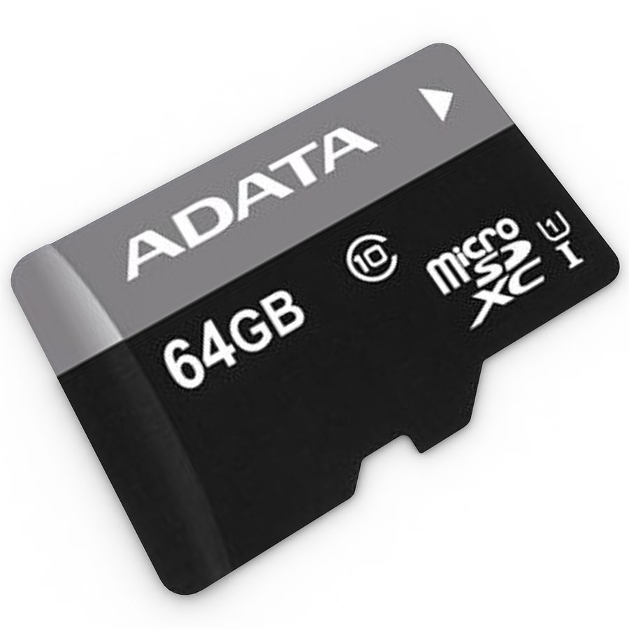 Memory Card Micro SD 2 royalty-free 3d model - Preview no. 1