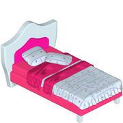 새 침대 3d model