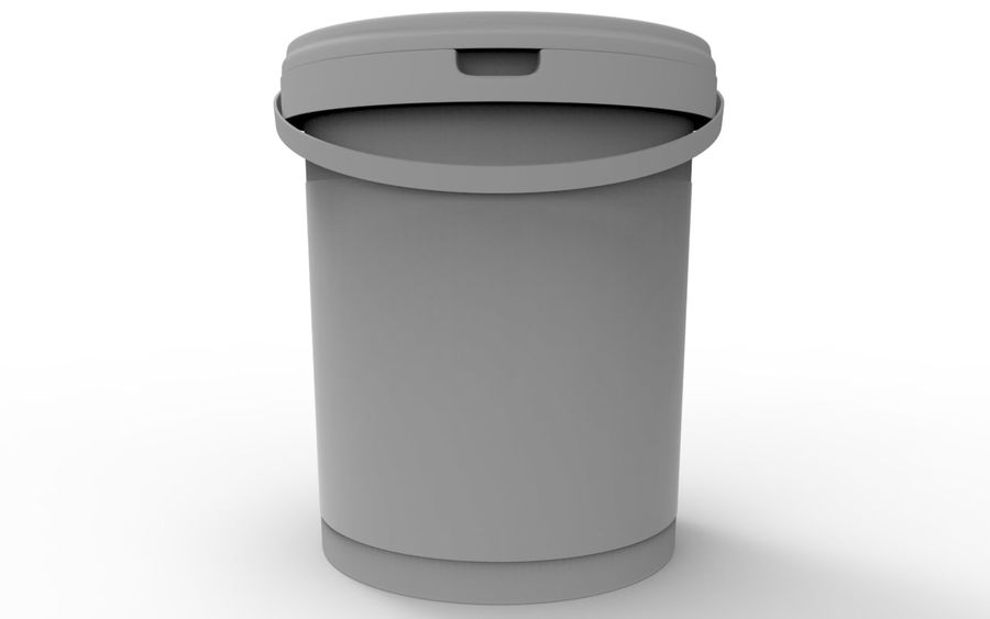Bucket royalty-free 3d model - Preview no. 5