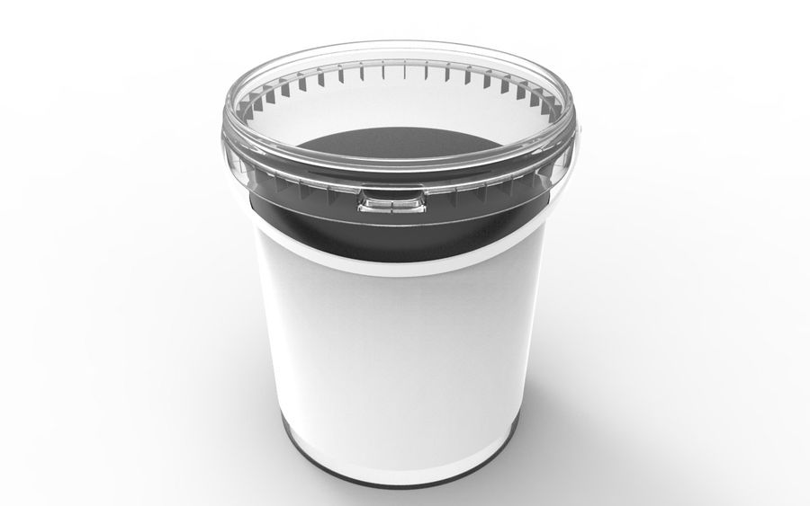 Bucket royalty-free 3d model - Preview no. 2