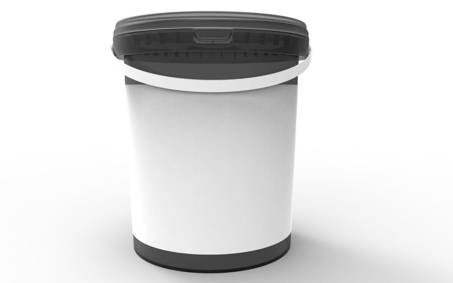 Bucket royalty-free 3d model - Preview no. 1