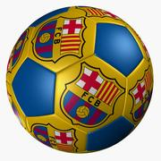 SOCCER BAll BARCELLONA 3d model