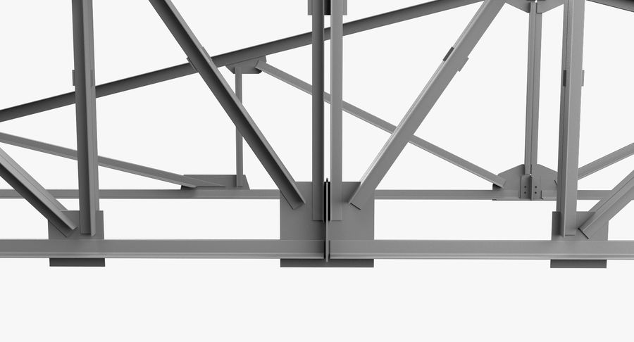 Truss royalty-free 3d model - Preview no. 3