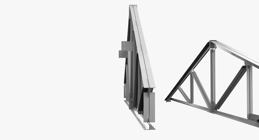 Truss royalty-free 3d model - Preview no. 4