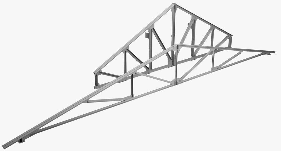 Truss royalty-free 3d model - Preview no. 1
