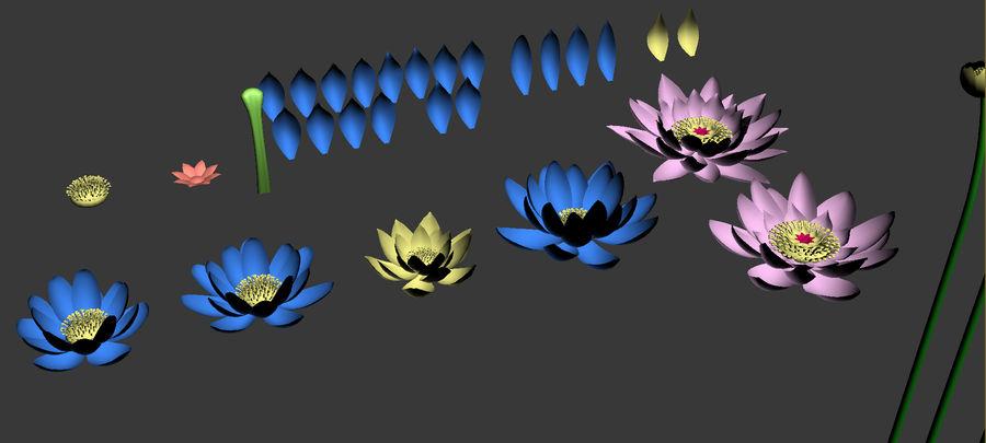 Plantes des marais royalty-free 3d model - Preview no. 3