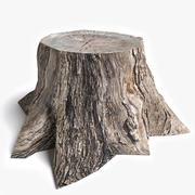 Dead Tree Stump 3d model