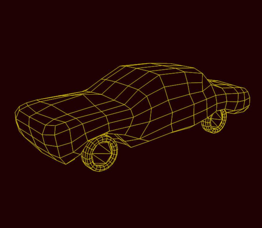 car low texture royalty-free 3d model - Preview no. 6
