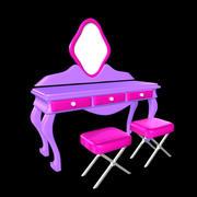 tuvalet masası 3d model