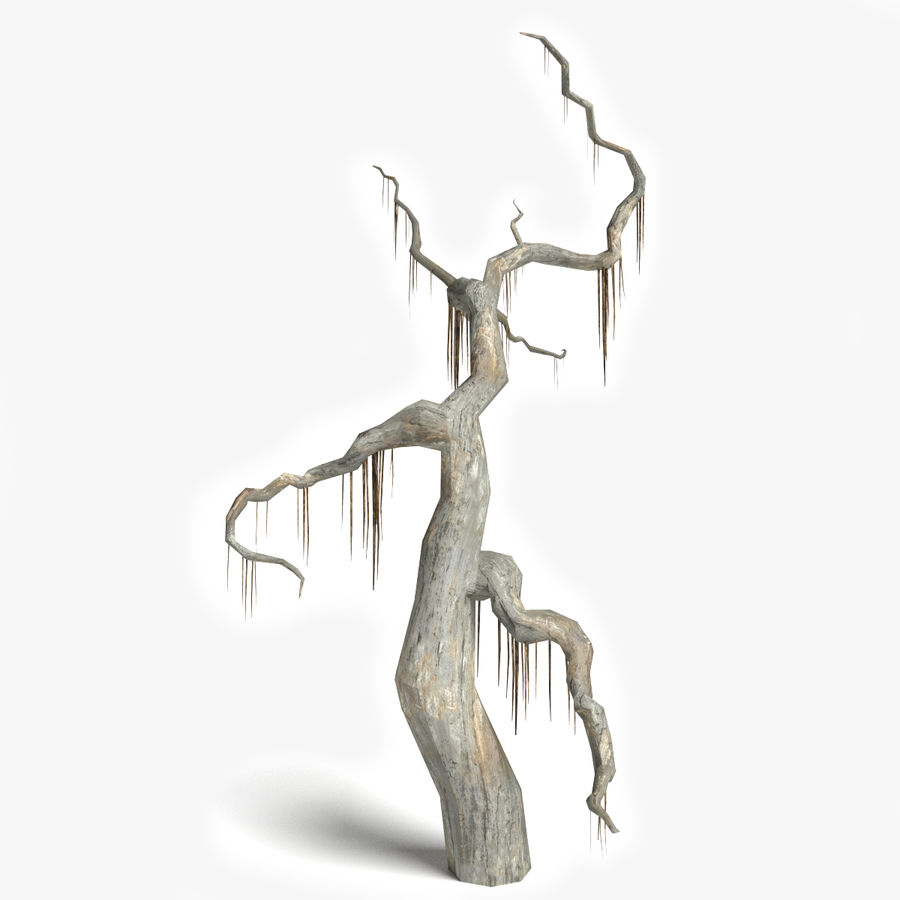 Dead Tree 2 royalty-free 3d model - Preview no. 1