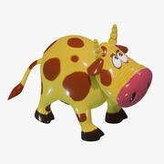 Cow Toy 3d model