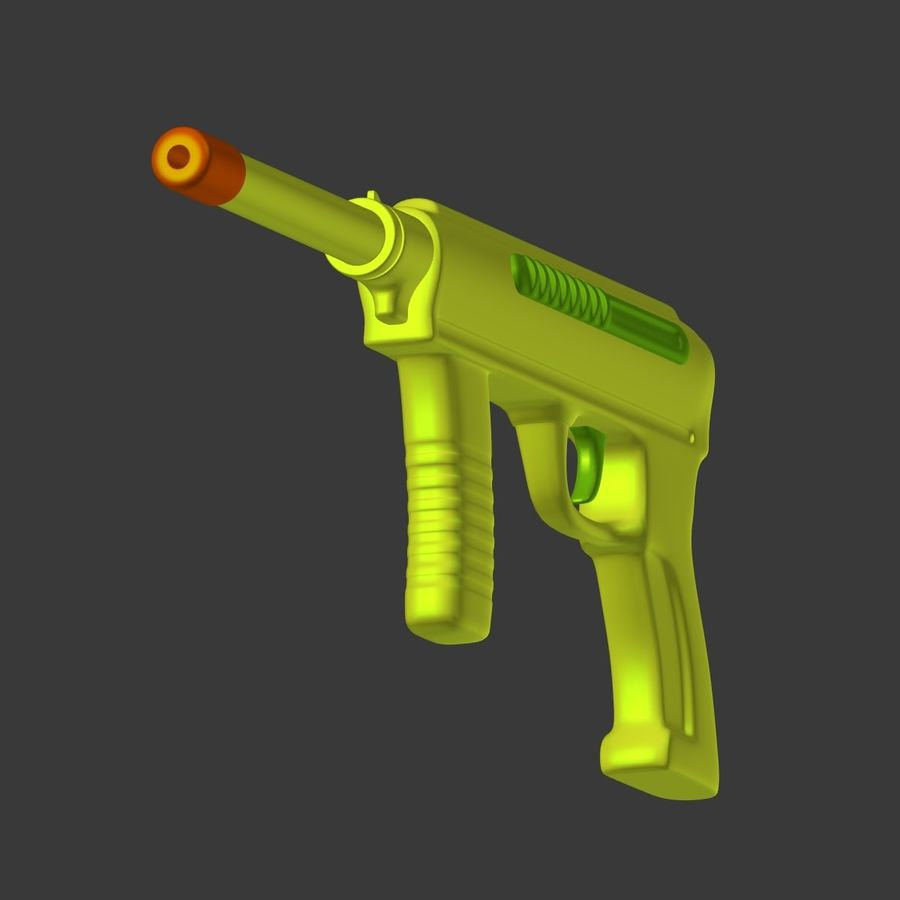 Vattenpistoler royalty-free 3d model - Preview no. 10
