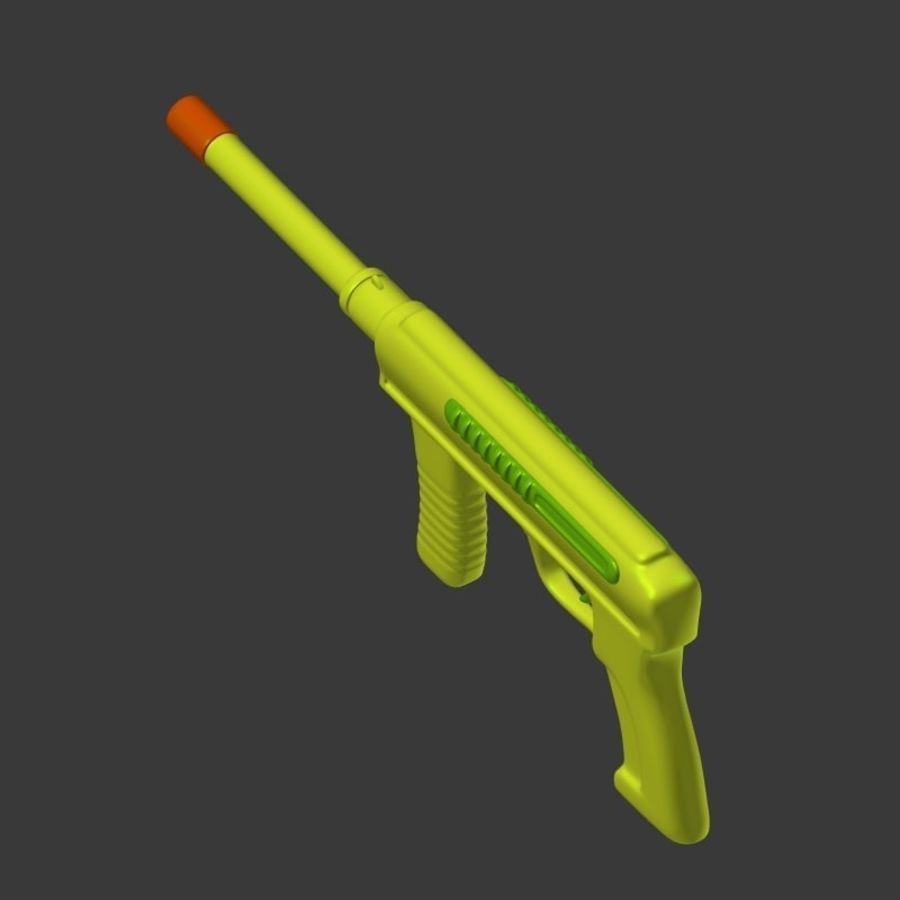 Vattenpistoler royalty-free 3d model - Preview no. 14