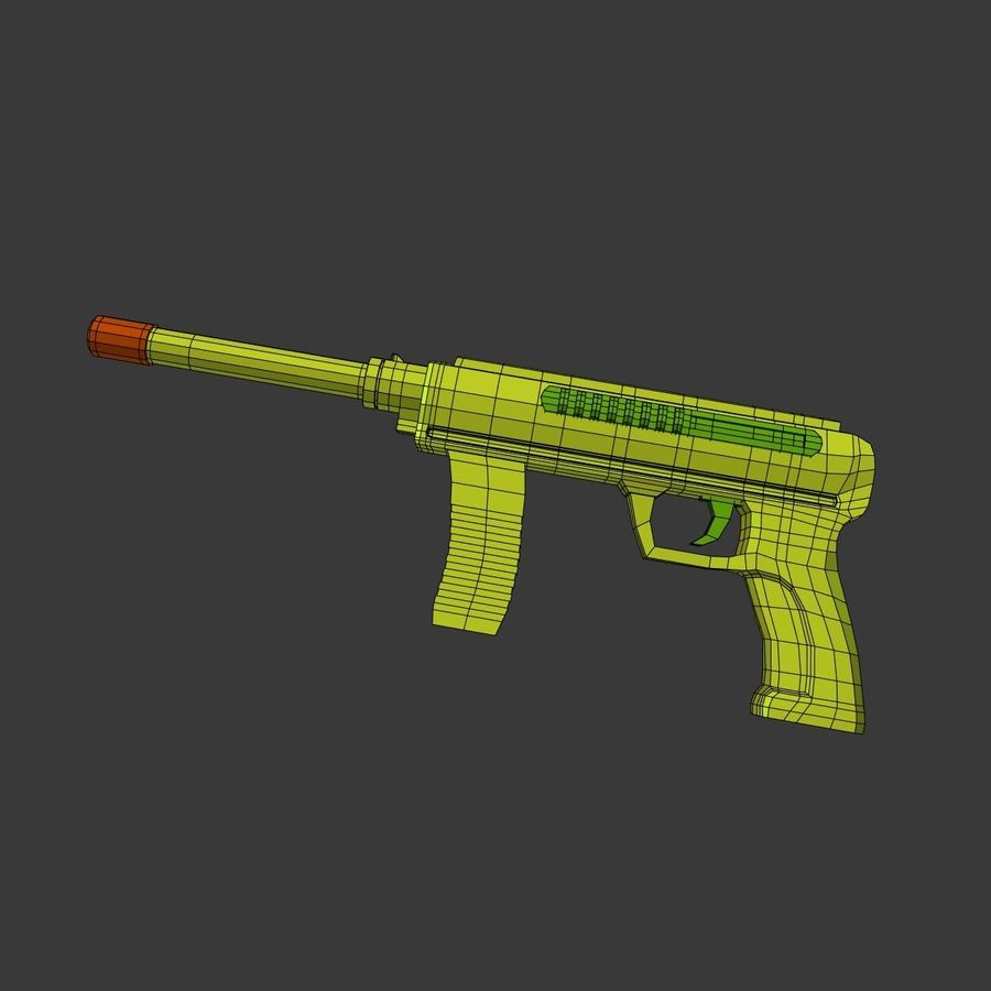 Vattenpistoler royalty-free 3d model - Preview no. 19