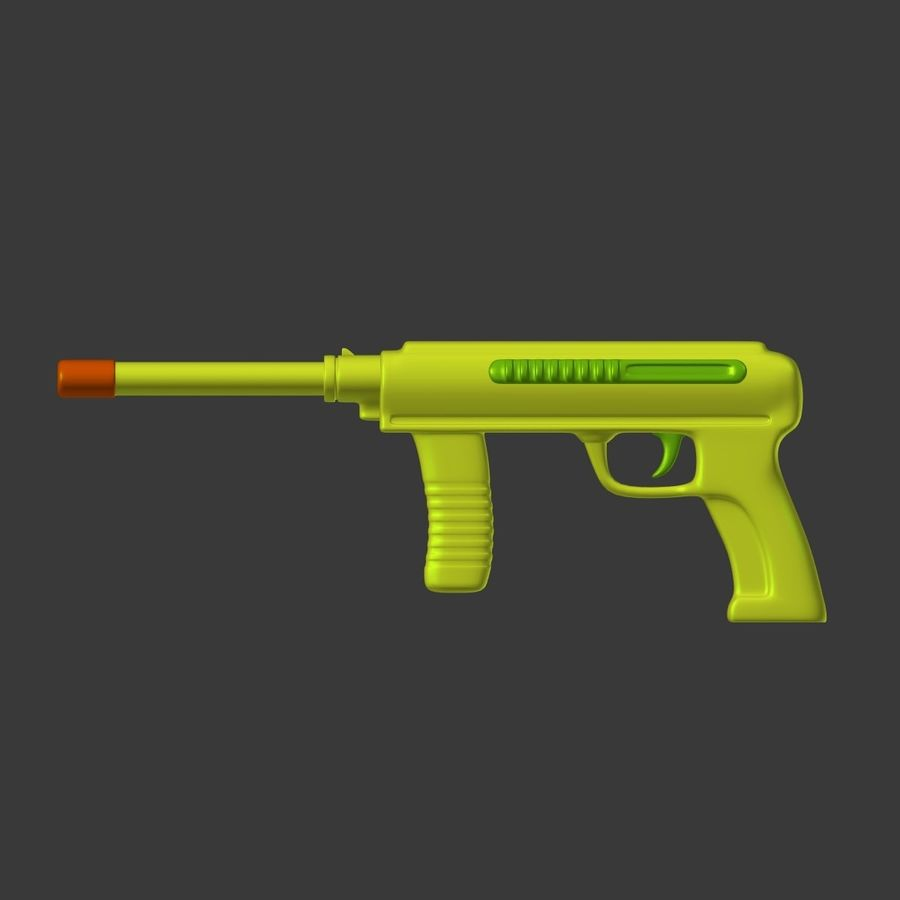 Vattenpistoler royalty-free 3d model - Preview no. 20