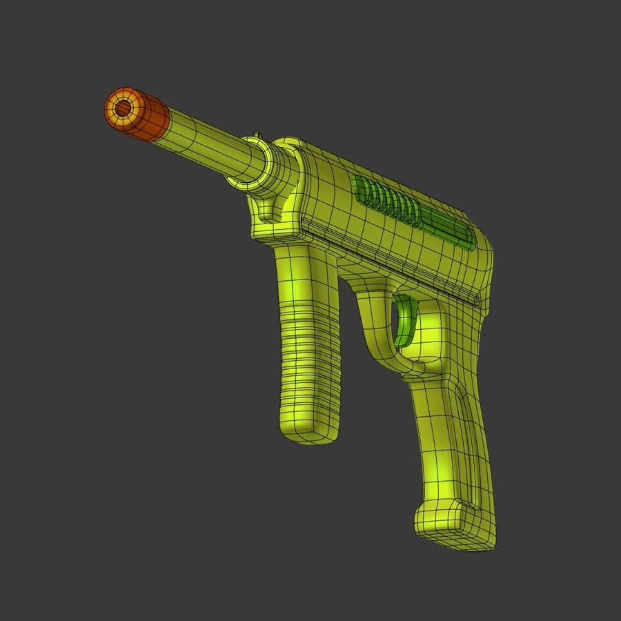 Vattenpistoler royalty-free 3d model - Preview no. 11