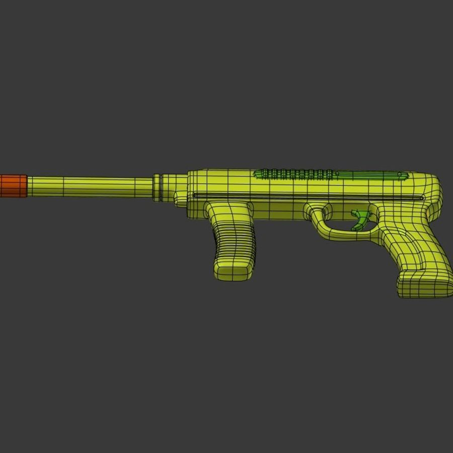 Vattenpistoler royalty-free 3d model - Preview no. 15