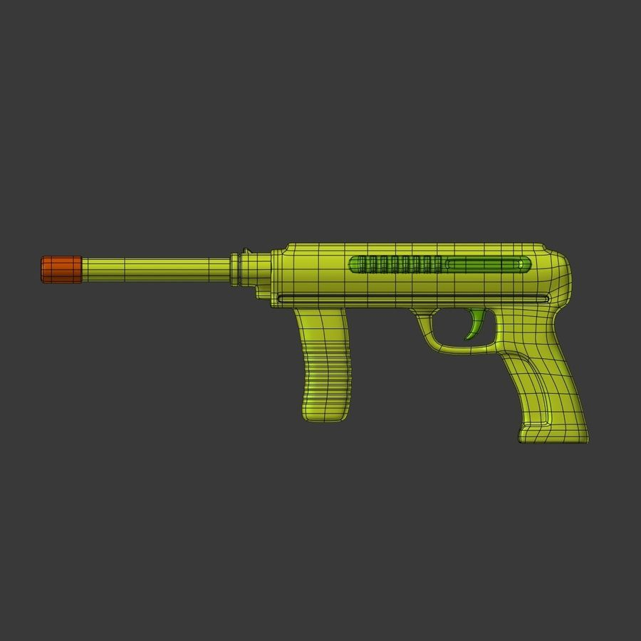 Vattenpistoler royalty-free 3d model - Preview no. 9