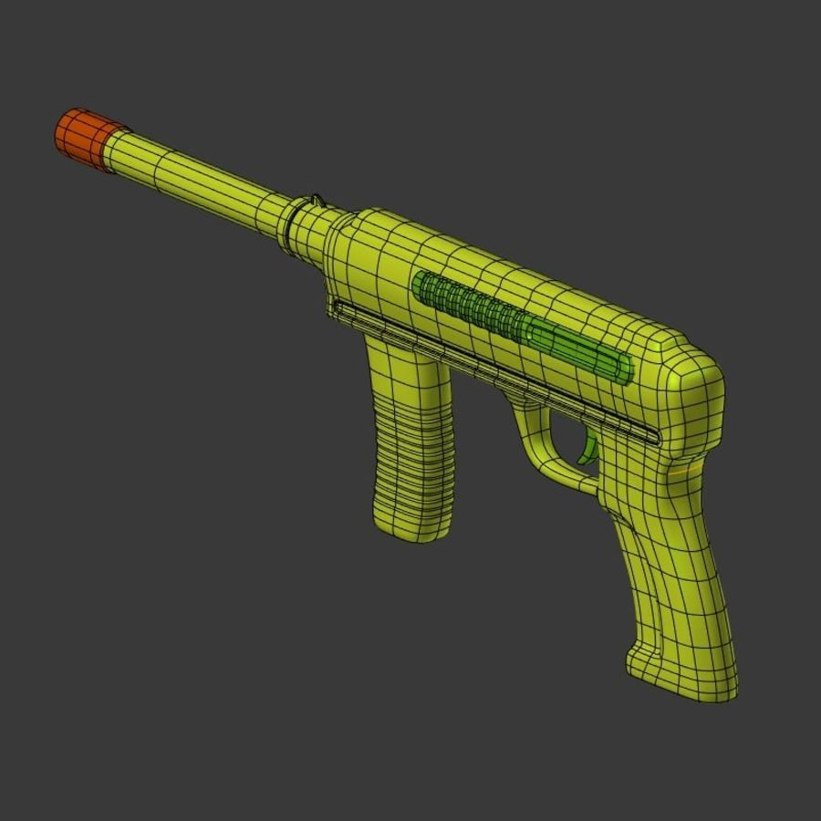Vattenpistoler royalty-free 3d model - Preview no. 13