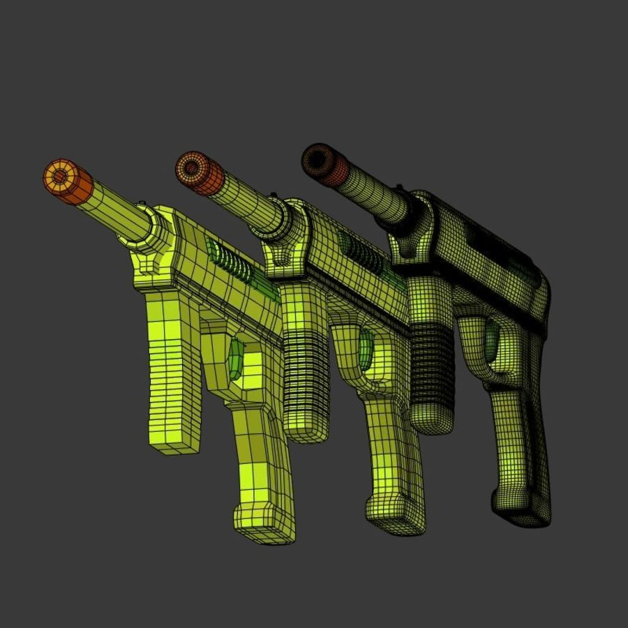 Vattenpistoler royalty-free 3d model - Preview no. 21